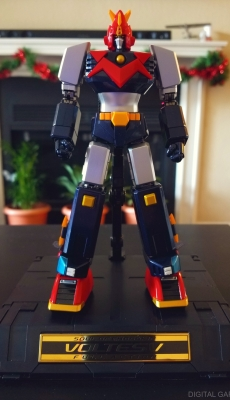 Voltes V with stand
