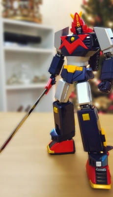 Voltes V with sword